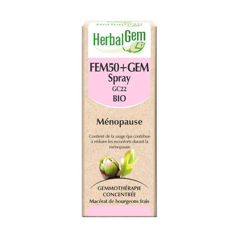 Herbalgem Fem50+Gem Bio - 15ml