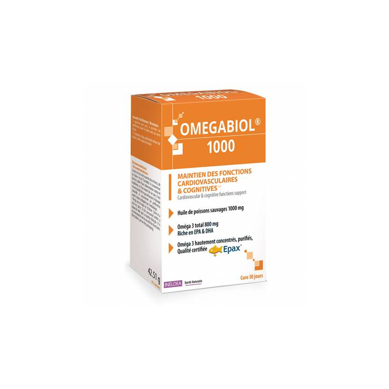 Ineldéa Ineldea Omégabiol 1000 - 60 capsules