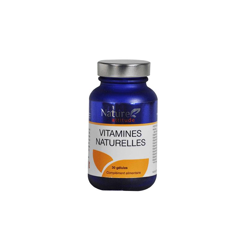 Nature Attitude Vitamines Naturelles - 30 gélules