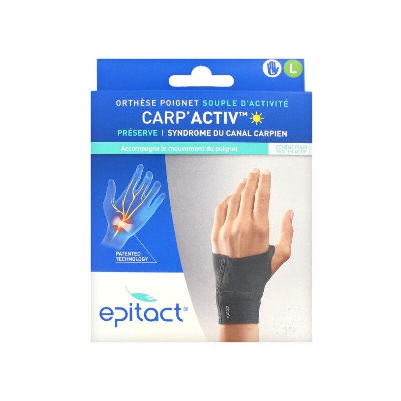 Epitact Carp'Activ Orthèse poignet souple d'activité droite - Taille L