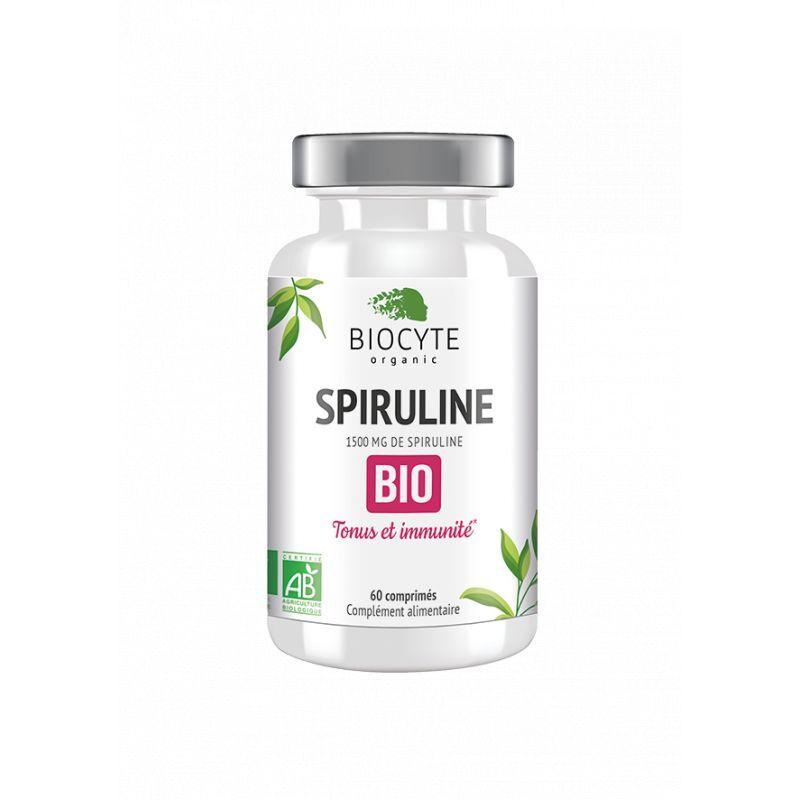 Biocyte Spiruline Bio - 60 gélules