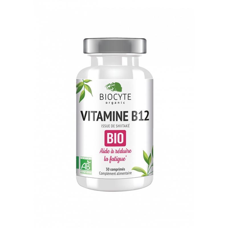 Biocyte Vitamine B12 Bio - 30 comprimés