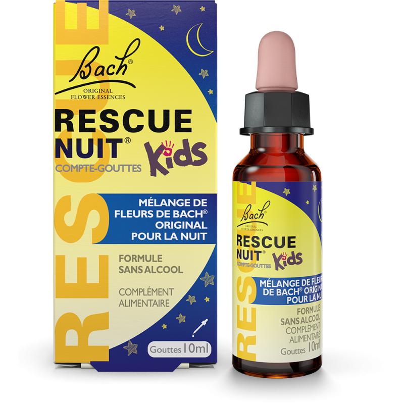 Bach Fleurs de Bach Rescue Nuit Kids compte-gouttes - 10ml