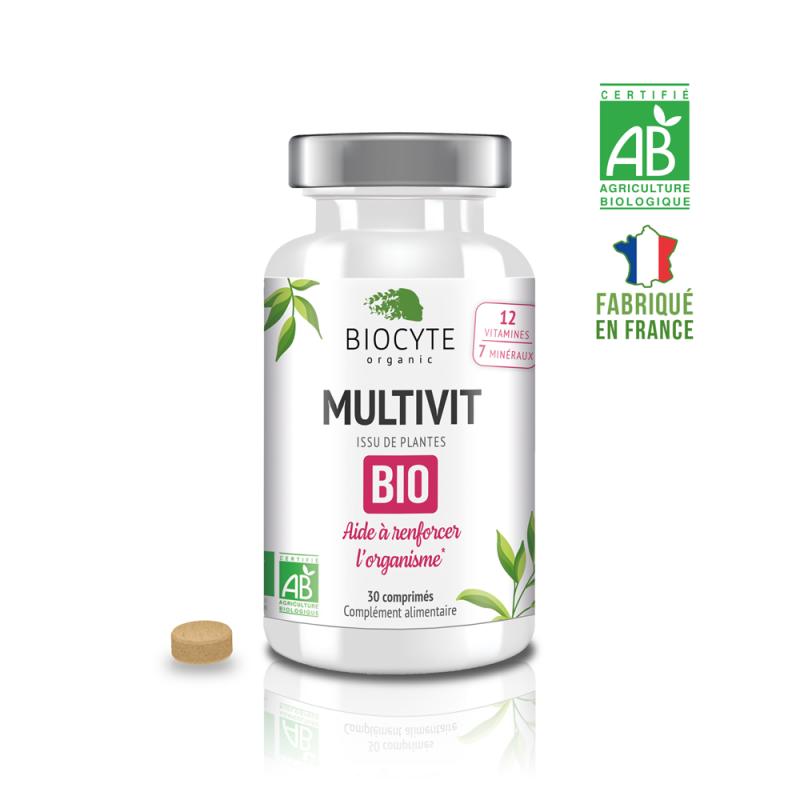 Biocyte Multivit Bio - 30 comprimés