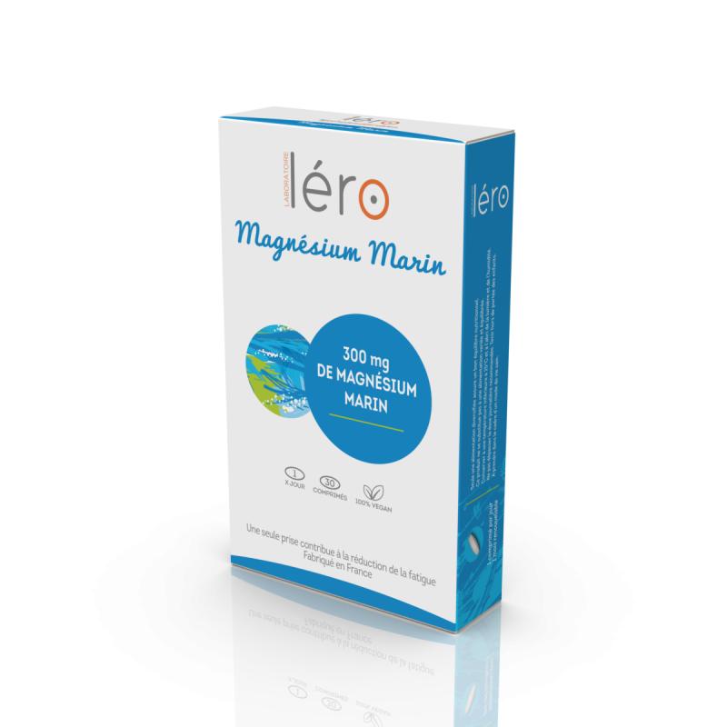 Léro Magnésium marin - 30 comprimés