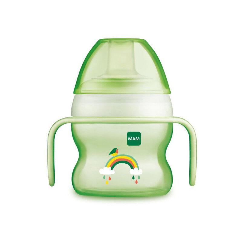 MAM Tasse à bec souple Starter Cup Vert 4+m - 150ml