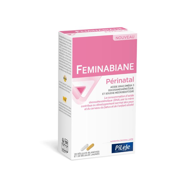 Pileje Feminabiane Périnatal - 28 gélules + 28 gélules jaunes