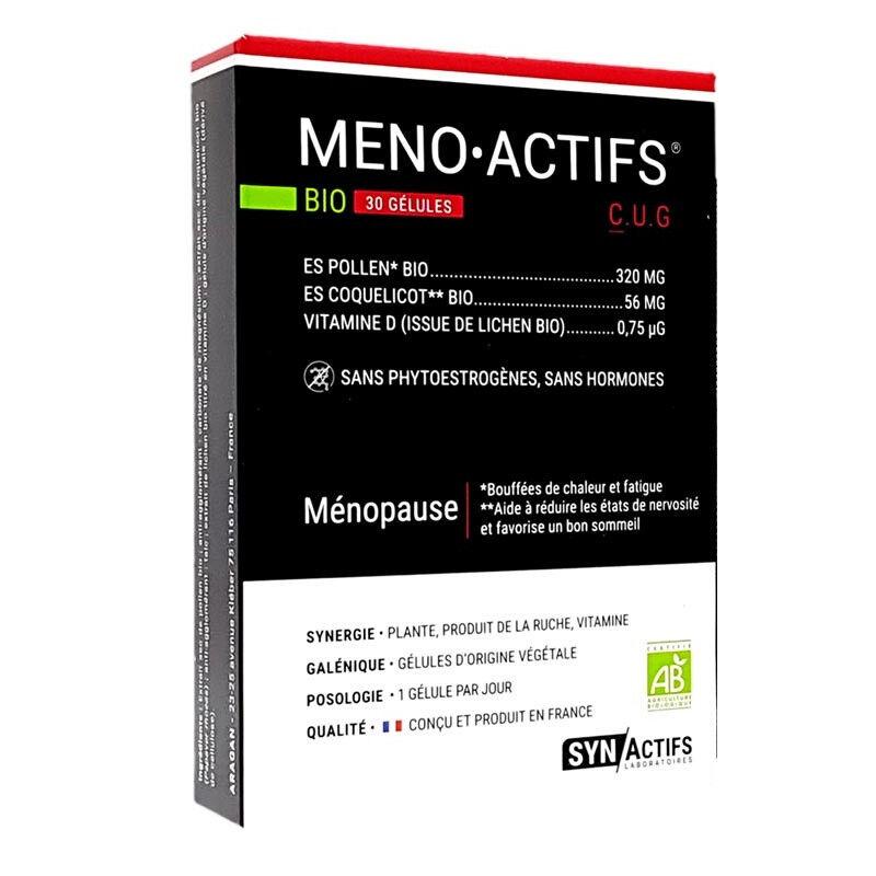 SYN Actifs Synactifs MenoActifs Bio - 30 gélules