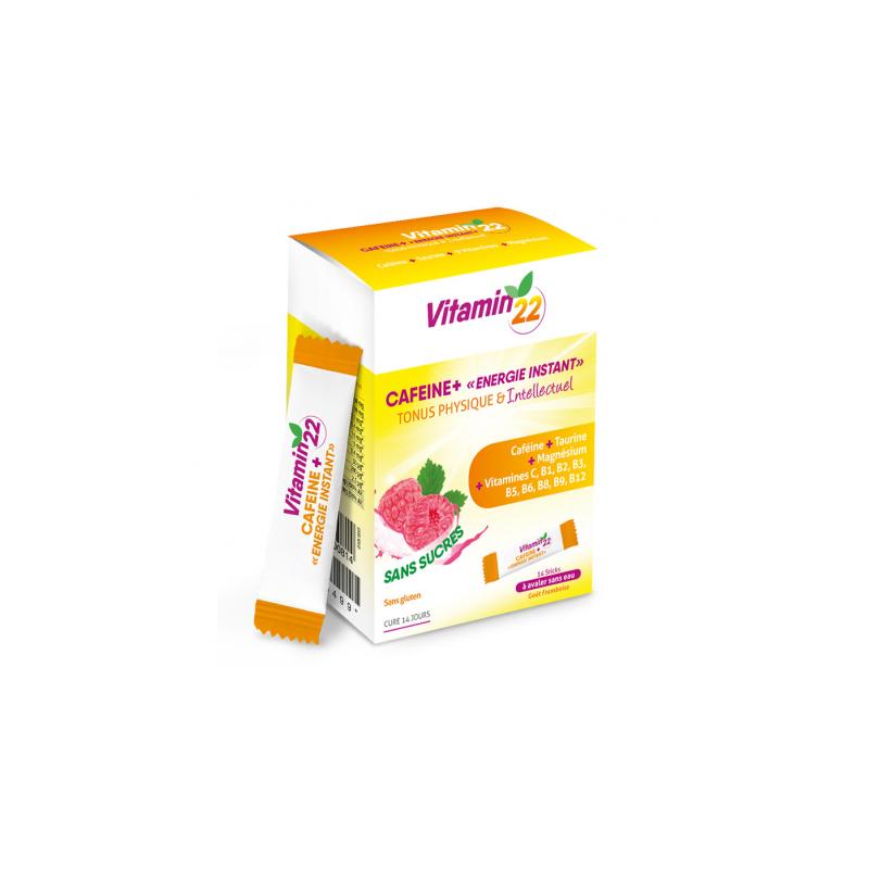 Ineldéa Ineldea Vitamin'22 Caféine+ - 14 sticks