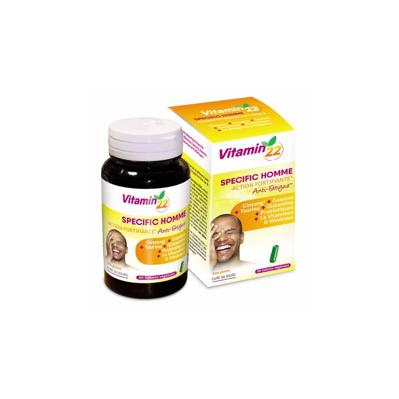 Ineldéa Ineldea Vitamin'22 Specific Homme - 60 gélules