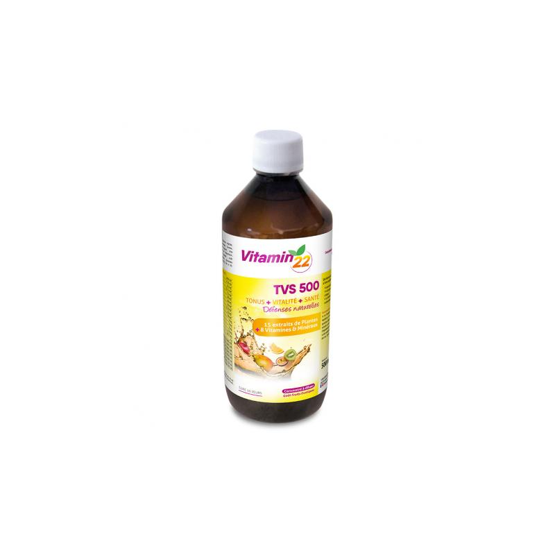 Ineldéa Ineldea Vitamin'22 TVS 500 goût fruits exotiques - 500ml