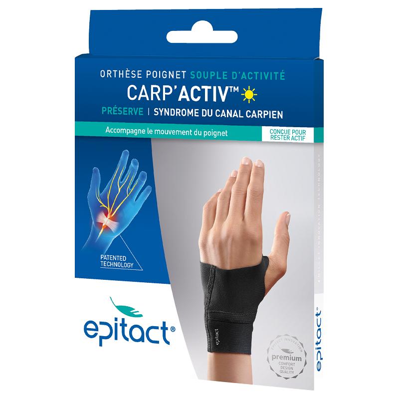 Epitact Carp'Activ Orthèse poignet souple d'activité gauche - Taille S