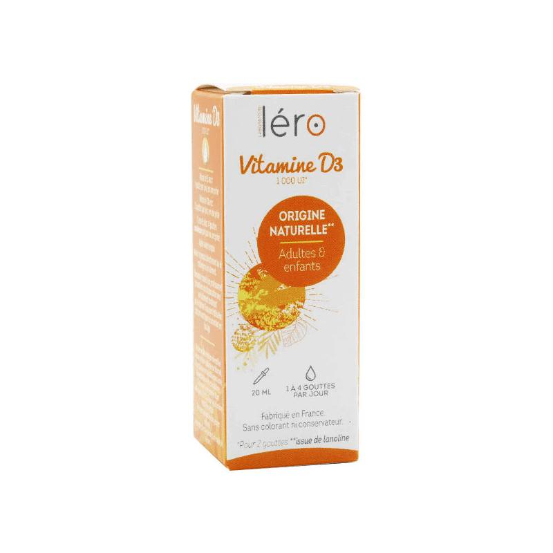 Léro Vitamine D3 - 20ml