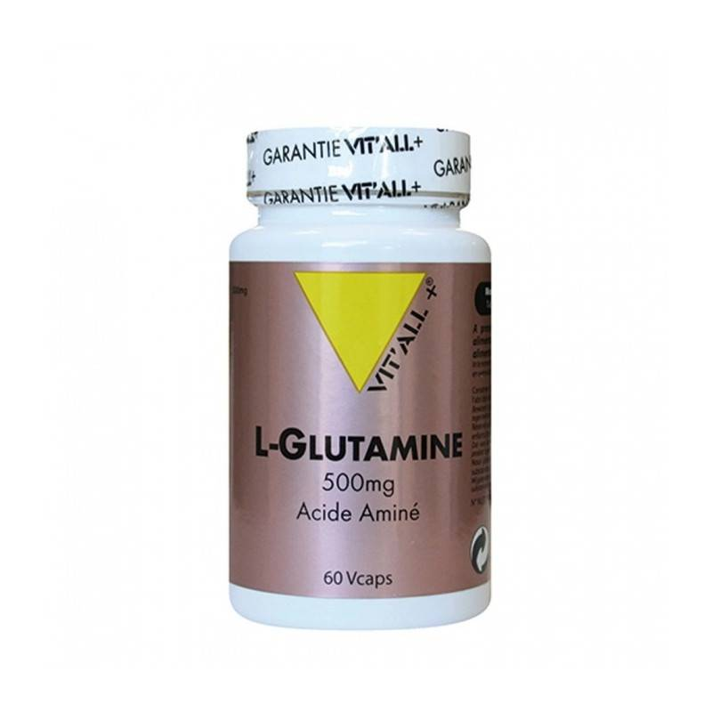 Vitall + Vitall+ L- Glutamine - 60 gélules végétales