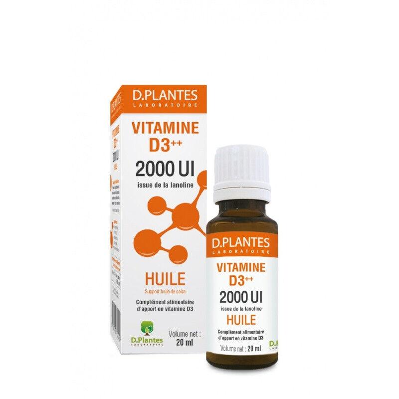 D.Plantes laboratoires D.Plantes Vitamine D3++ 2000UI Huile - 20ml