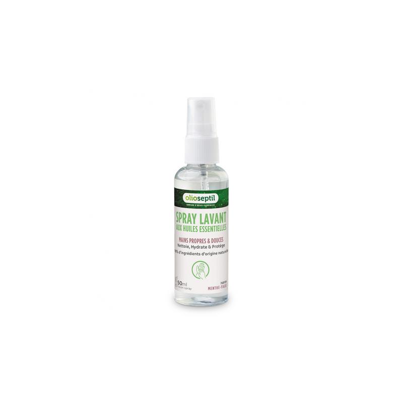 Ineldéa Ineldea Olioseptil Spray lavant aux huiles essentielles parfum menthe-figue - 50ml