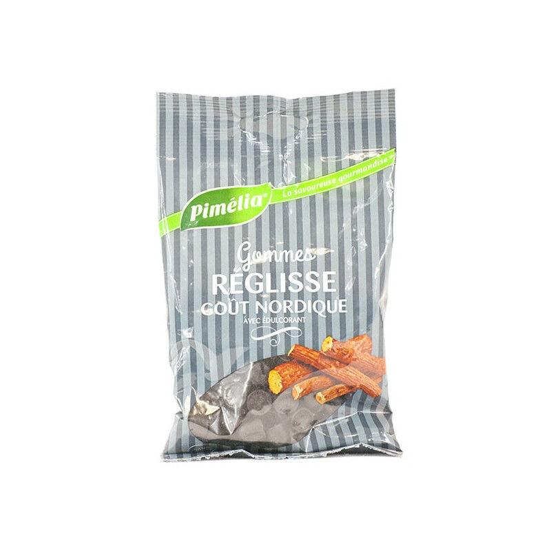 Meda pharma Pimelia Gommes réglisse goût nordique sans sucre - 100g