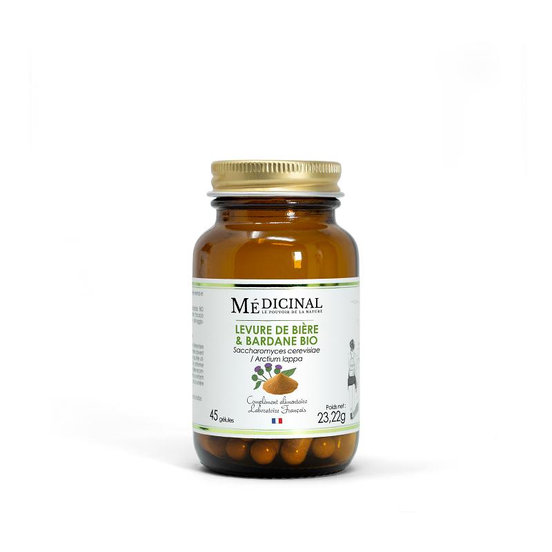 Mediprix Médiprix Levure de bière / Bardane Bio - 45 gélules