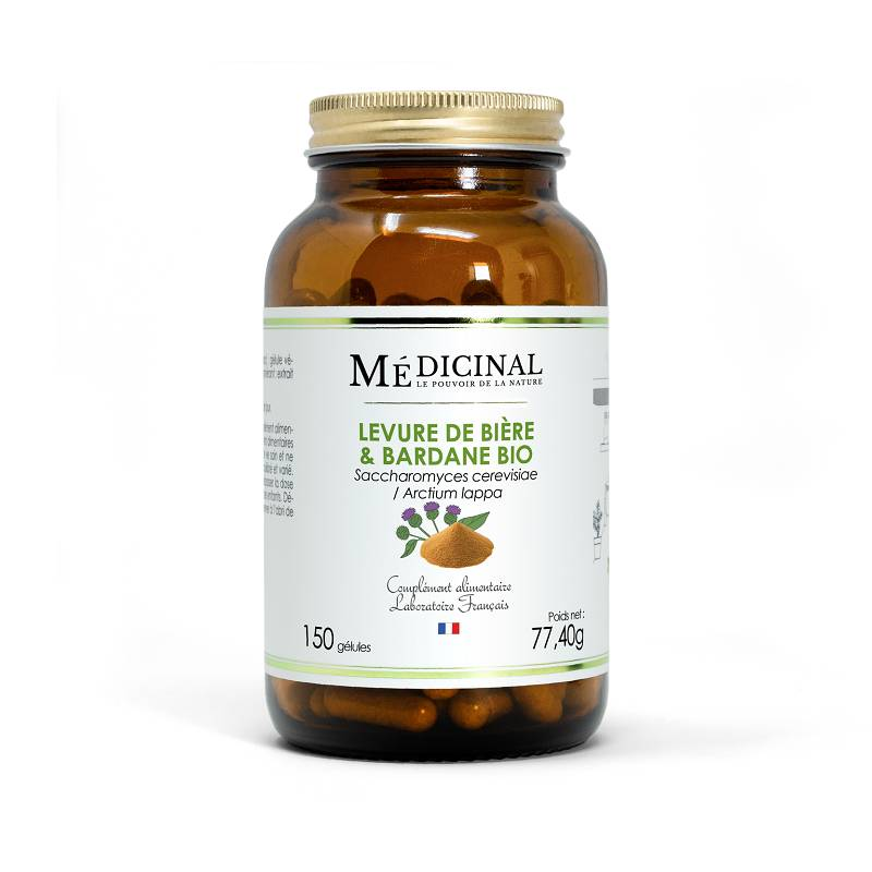 Mediprix Médiprix Levure de bière / Bardane Bio - 150 gélules