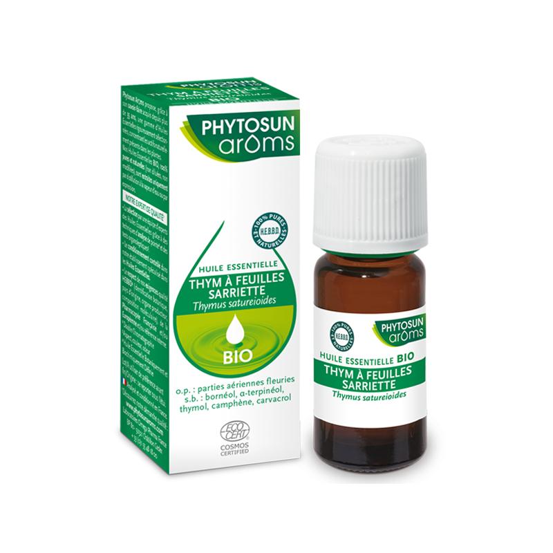 Phytosunarôms Phytosun Arôms Huile essentielle Thym à feuilles sarriette Bio - 10ml