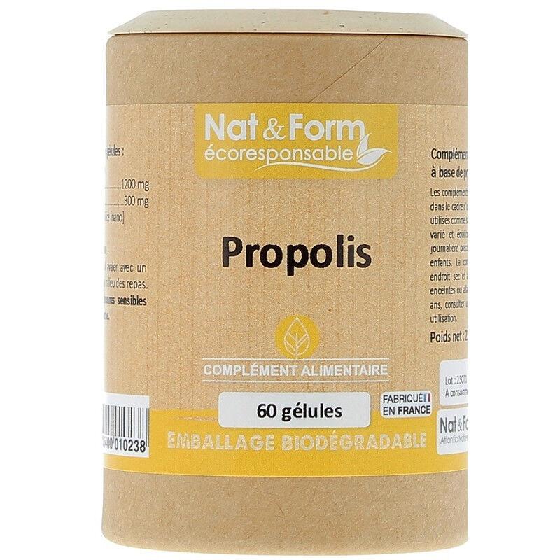 Atlantic Nat&Form Propolis - 60 gélules