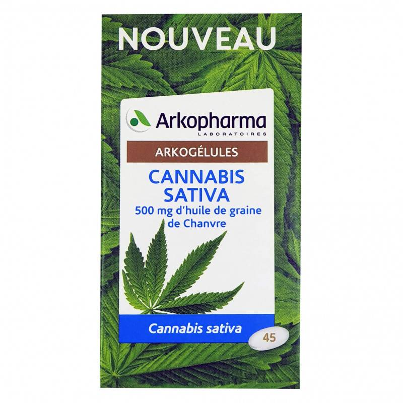Arkopharma Arkogélules Cannabis Sativa - 45 capsules
