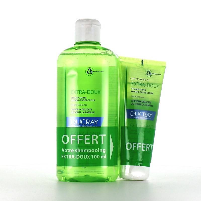 Ducray Shampoing dermo-protecteur - 400ml + 100ml Offert