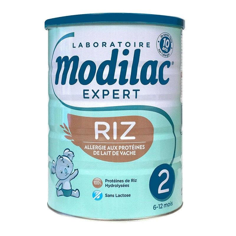 Modilac Expert Riz lait 2ème âge - 800g