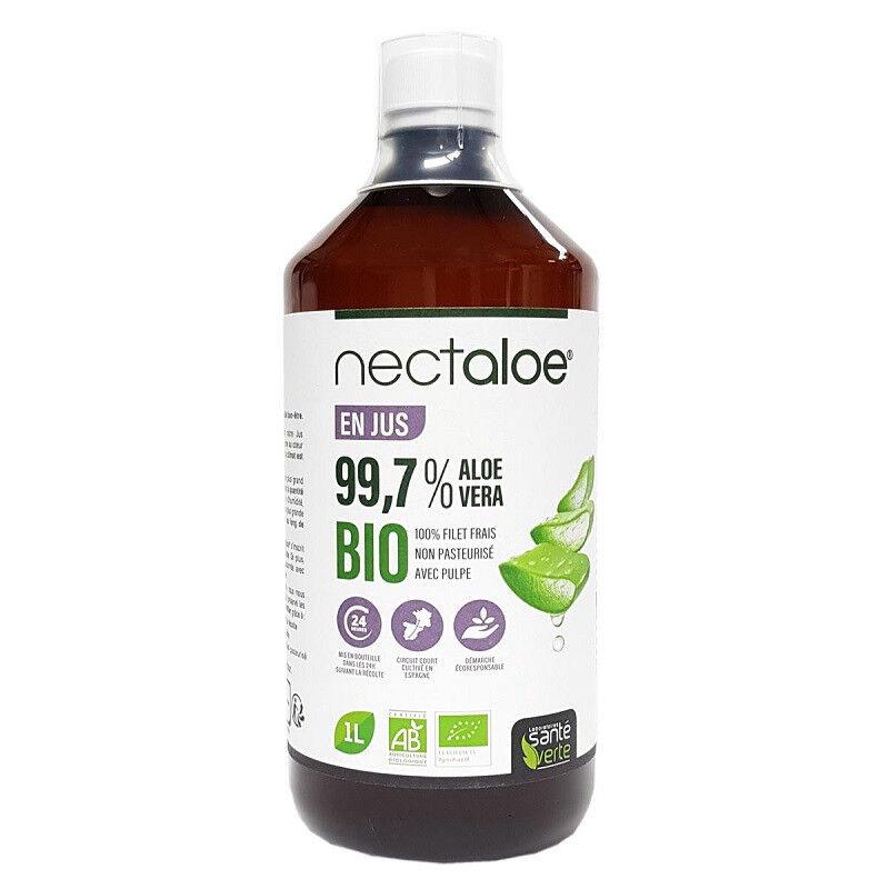 Santé Verte Nectaloe Jus d'Aloé Vera Bio - 1L