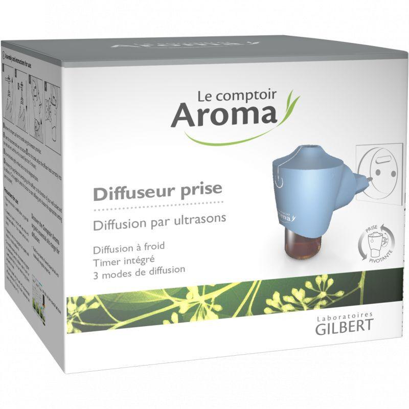 gilbert Le Comptoir Aroma Diffuseur prise pour huiles essentielles Oya