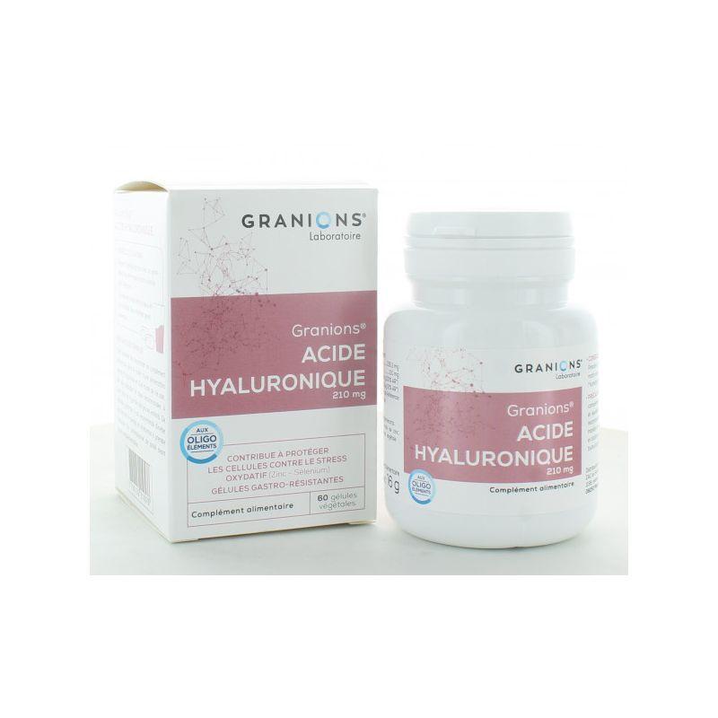 Laboratoire Granions Granions Acide Hyaluronique 60 Gélules