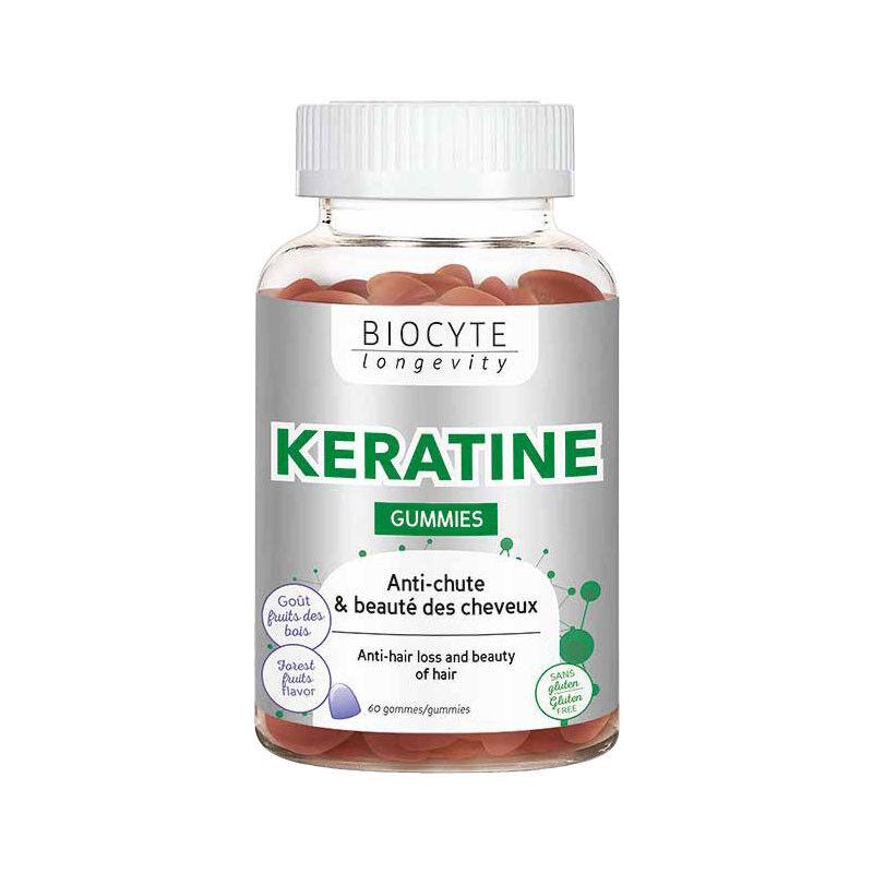 Biocyte Kératine - 60 Gummies