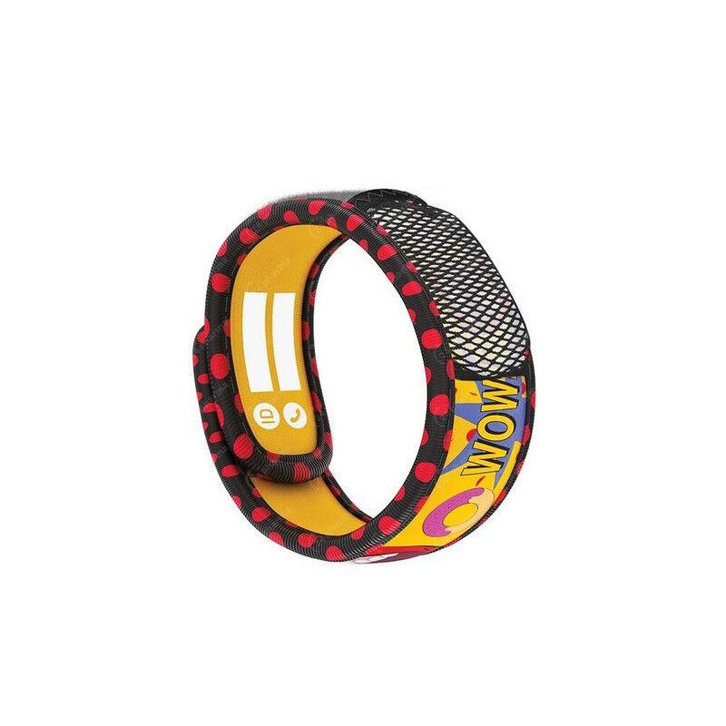 Parakito Teens Bracelet anti-moustiques Pop Art + 2 recharges