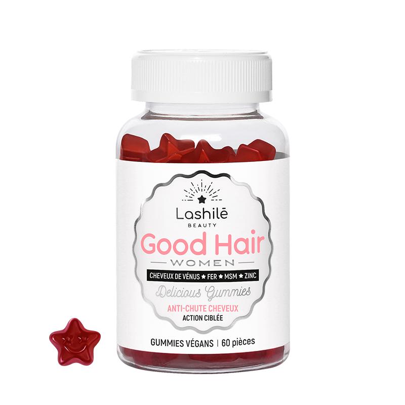 Lashilé Beauty Good Hair Women - 60 gommes