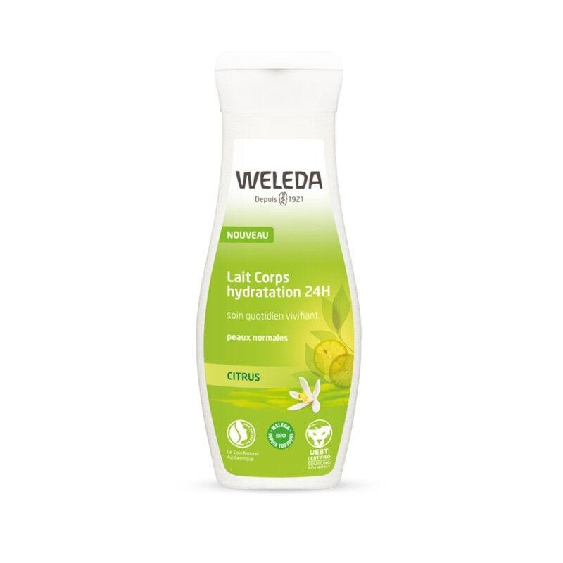 Weleda Citrus Lait corps hydratation Bio 24h - 200ml