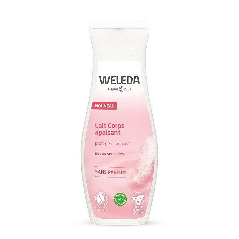 Weleda Lait corps apaisant non parfumé Bio - 200ml