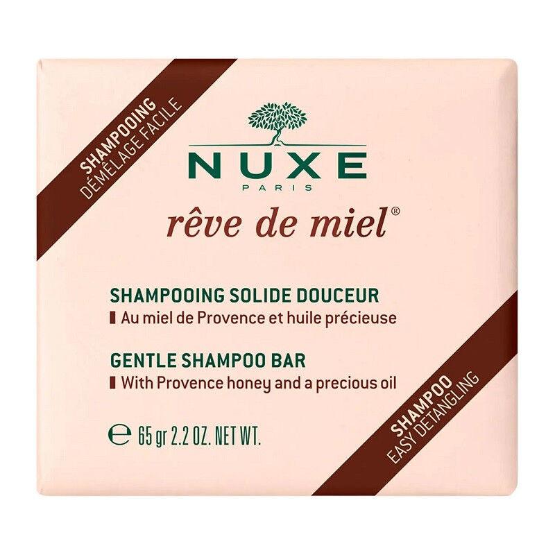 Nuxe Rêve de Miel Shampoing solide douceur - 65g