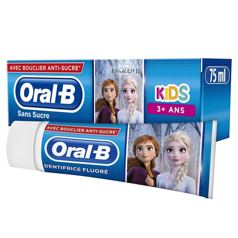 Procter&Gamble Oral B Kids Dentifrice fluoré sans sucre 3 ans - 75ml