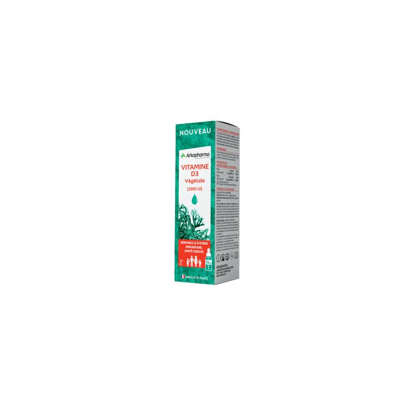 Arkopharma Vitamine D3 Végétale liquide - 15ml