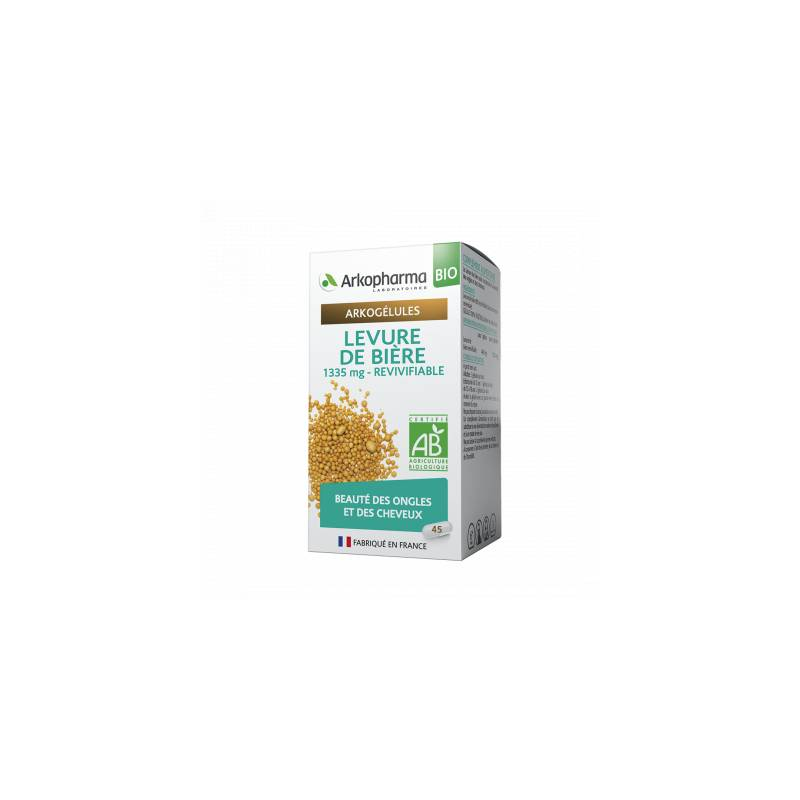 Arkopharma Arkogélules Levure de bière Bio - 15 gélules + 45 Offertes