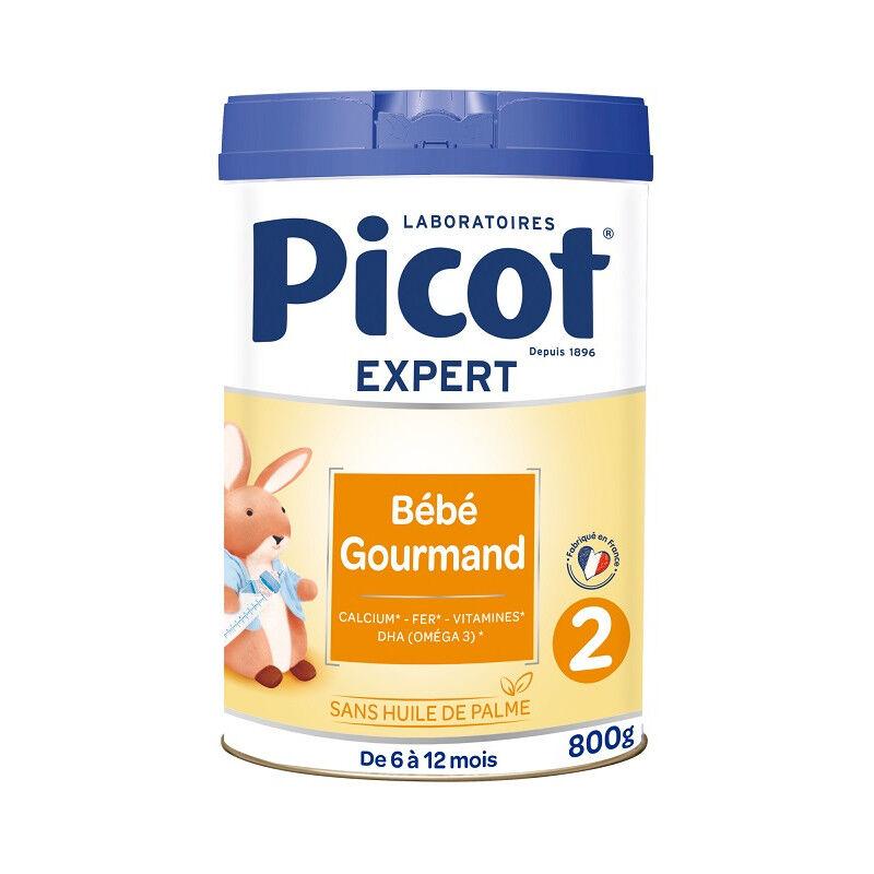 Picot Expert Lait 2ème âge Bébé gourmand - 800g