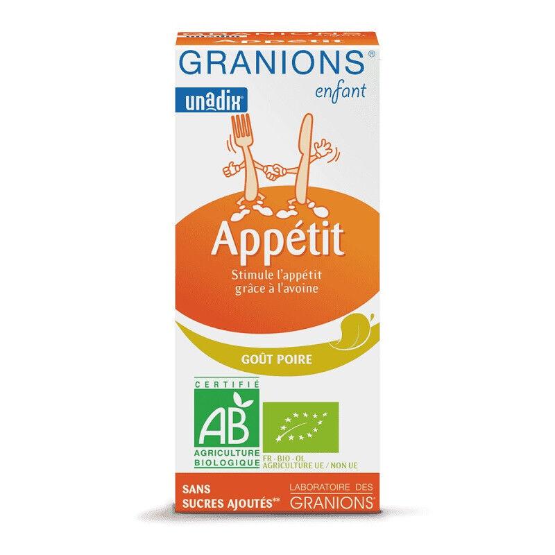 Laboratoire Granions Granions Enfant Appétit Bio - 125ml