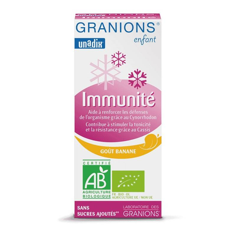 Laboratoire Granions Granions Enfant Immunité Bio - 125ml