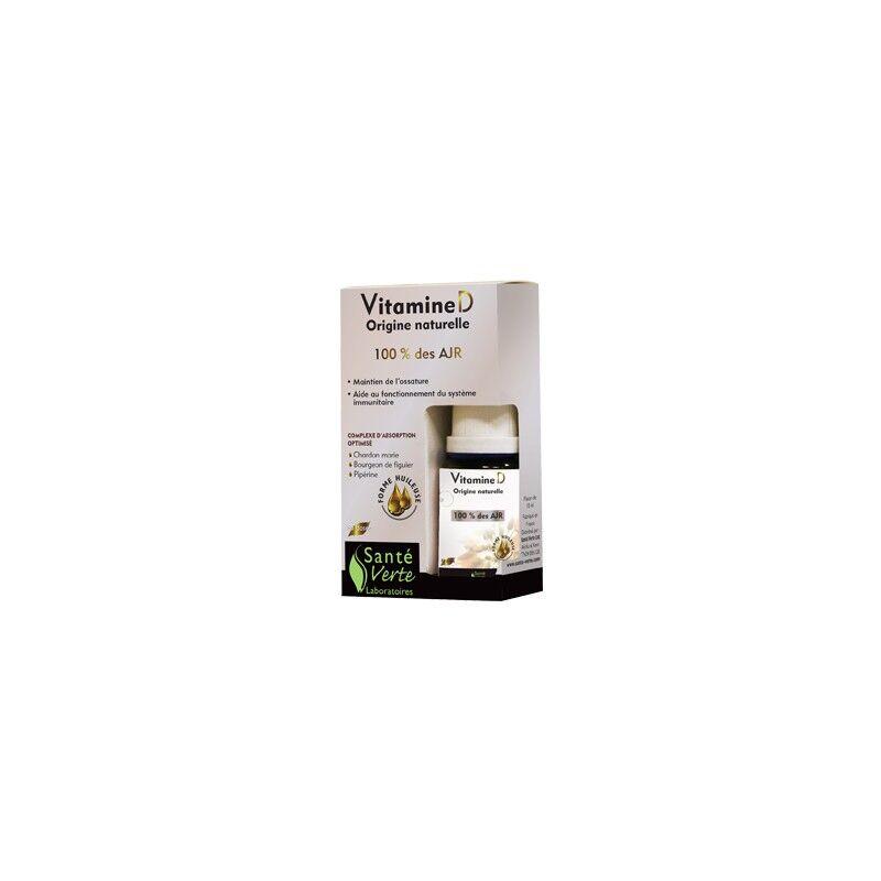 Santé verte Vitamine D3 flacon de 15ml Santé verte