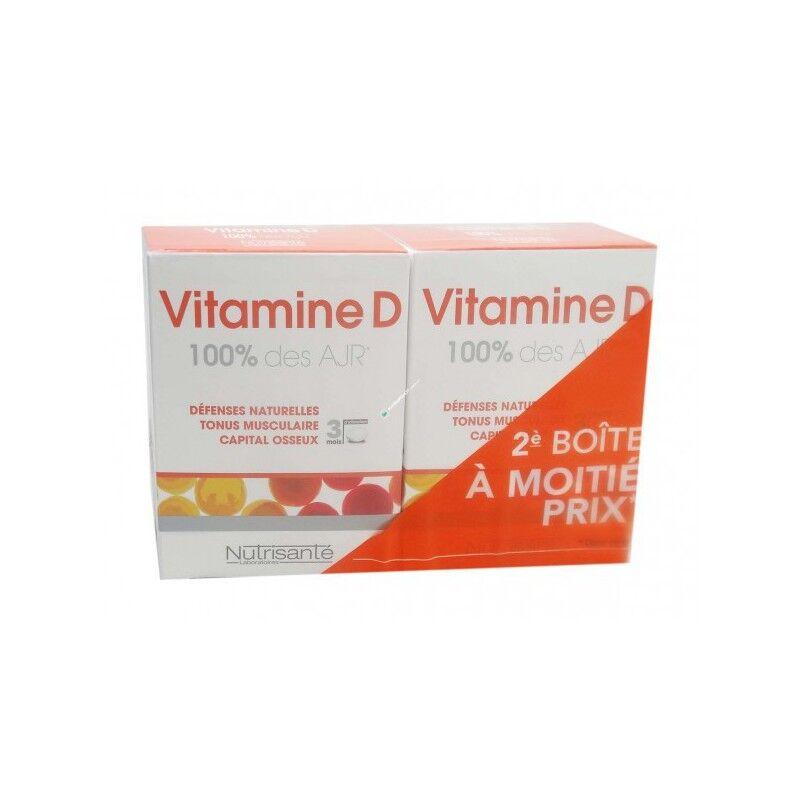 Nutrisanté Vitamine D  lot 2x90 comprimés Nutrisanté