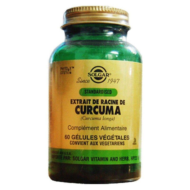 Solgar Curcuma 60 Gélules Végétales