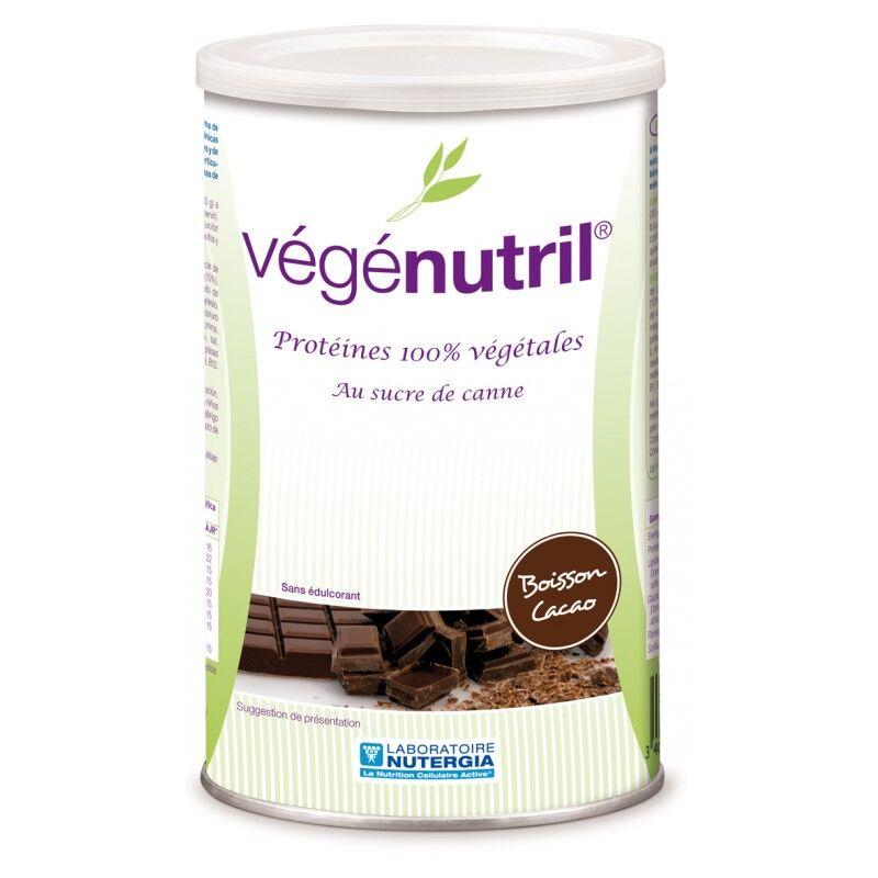 Nutergia Vegenutril Boisson Cacao Poudre 300g
