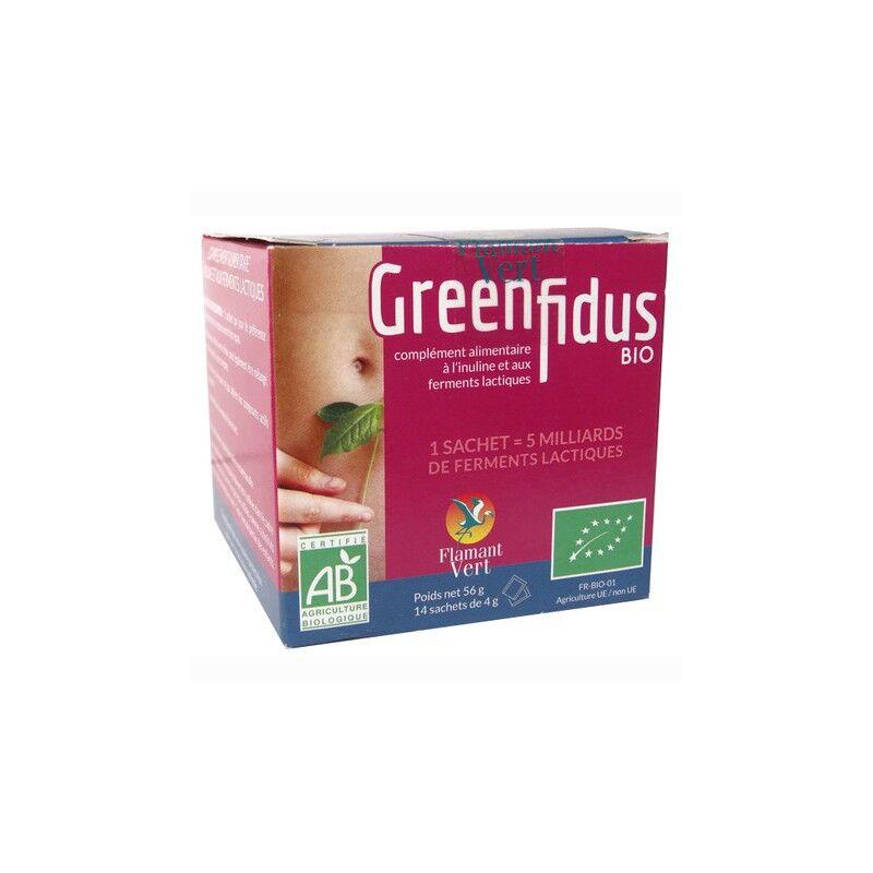 Flamant vert GreenFidus Bio 14 sachets