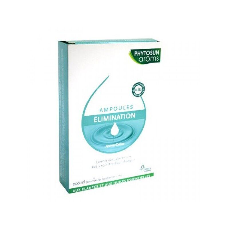 Phytosunarôms AromaDétox Elimination 20 ampoules de 10 ml