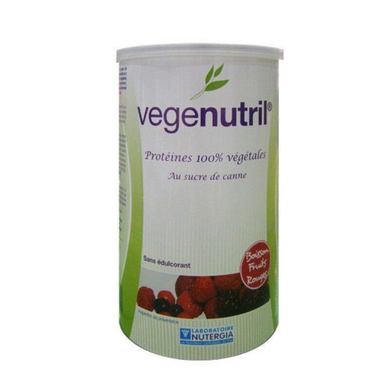Nutergia Vegenutril Boisson fruits rouges poudre 300gr